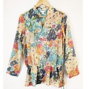 Serengeti Women's Tunic Floral Size M
